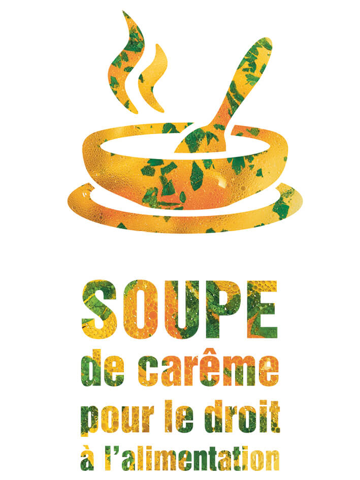 Soupe de carême (icône avec texte)